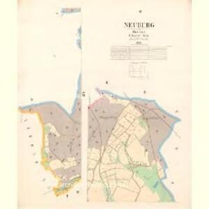 Neuberg - c5891-2-003 - Kaiserpflichtexemplar der Landkarten des stabilen Katasters
