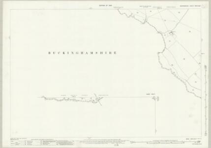 Bedfordshire XXXI.2 & 7 (includes: Edlesborough; Grove; Ivinghoe; Leighton Buzzard; Mentmore; Slapton) - 25 Inch Map