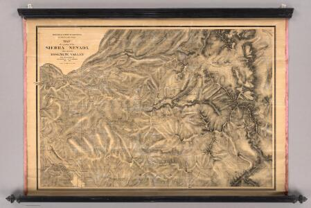 Sierra Nevada adjacent to the Yosemite Valley.