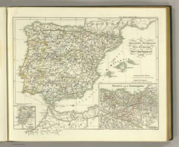 Die iberische Halbinsel seit dem Anfange des XVIten. Jahrhundert's (1479).