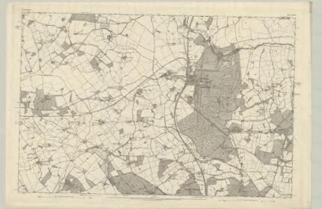 Hertfordshire XXXIV - OS Six-Inch Map