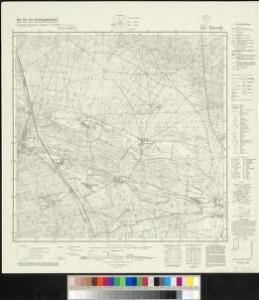 Meßtischblatt 3947 : Baruth, 1942