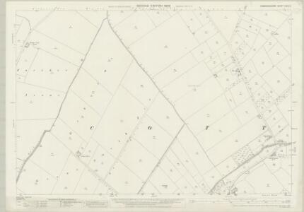 Cambridgeshire XXXIV.6 (includes: Cottenham; Rampton; Willingham) - 25 Inch Map