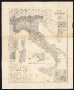 General-Karte von Italien