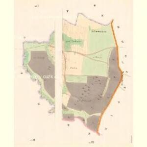 Zahorzy - c9059-1-002 - Kaiserpflichtexemplar der Landkarten des stabilen Katasters