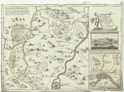 Karte von den durch die Waffen erroberten und durch den Frieden zu Szistow am 4 August 1791 von der ottomanischen Pforte an das Erzhaus Oestreich abgetrettenen Antheilen von Turkisch Kroatien und der Walachey