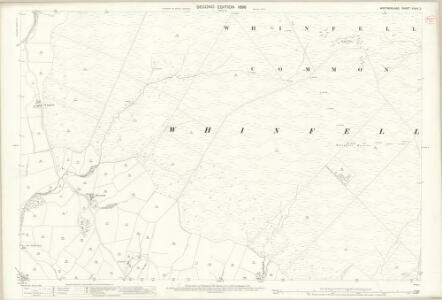 Westmorland XXXIV.2 (includes: Fawcett Forest; Whinfell; Whitwell And Selside) - 25 Inch Map