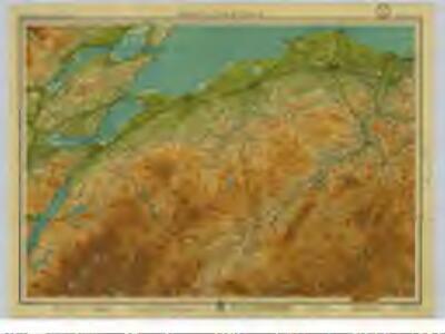 Moray and Black Isle, Sheet 21  - Bartholomew's