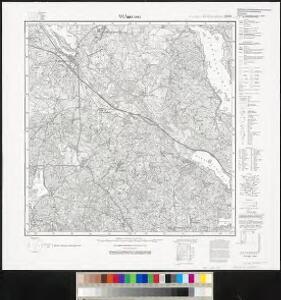Meßtischblatt 2098 : Widminnen, 1932