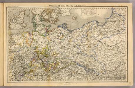 Nord- u. Mittel-Deutschland, nebst Daenemark.
