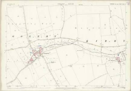 Yorkshire CXLIII.2 (includes: Kirby Grindalythe; Wharram) - 25 Inch Map