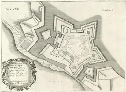 Plan de la Citadelle de Messine