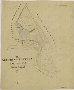 Mapy činžovních pozemků III. sekce třeboňského velkostatku pro obce: Branná, Břilice, Domanín, Herda, Holičky, Kojákovice, Spolí 1