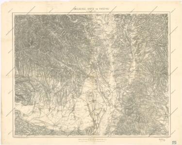 Umgebungs - Karte von Kaschau