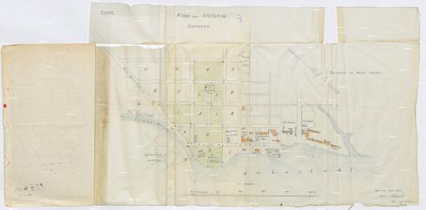 Plan von Victoria Kamerun. Kopie