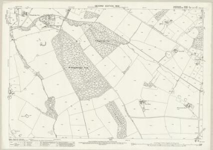 Shropshire X.5 (includes: Ashley; Maer; Mucklestone; Woore) - 25 Inch Map