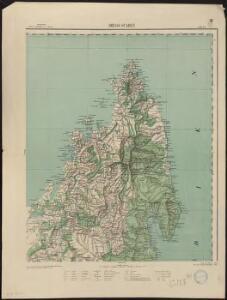 Carte d'ensemble de Madagascar. Diego Suarez