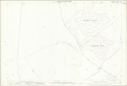 Hampshire and Isle of Wight XVII.7 (includes: Kingsclere; Overton) - 25 Inch Map
