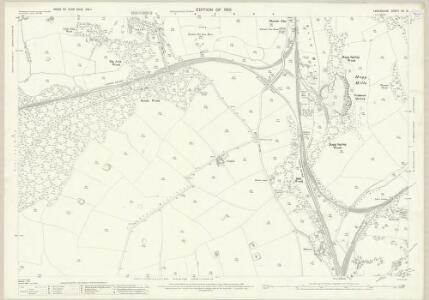 Lancashire XV.16 (includes: Barrow In Furness; Dalton In Furness) - 25 Inch Map