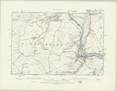 Cardiganshire XXXIII.NE - OS Six-Inch Map