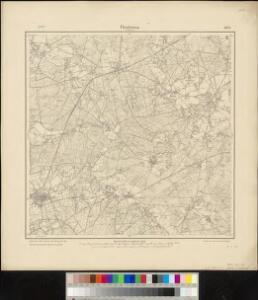 Meßtischblatt 1803 : Fürstenau in Hannover, 1900