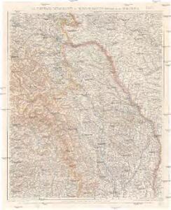 G. Freytags Detailkarte von Nord-Rumänien (Moldau) und der Bukowina