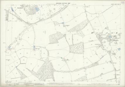 Surrey XXXIX.13 (includes: Alfold; Bramley; Dunsfold) - 25 Inch Map