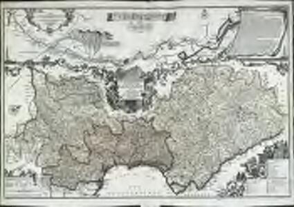 Le gouvernement general de Languedoc, divisé en Haut et Bas Languedoc et Sevennes