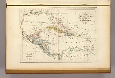 Antilles, du Golfe de Mexique, et du Guatemala.