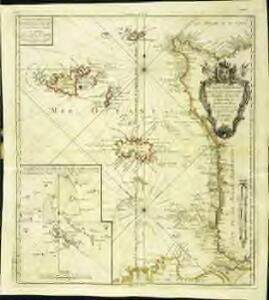 Carte générale, des isles Grenesey, Jersey, Aurigny, Chausey, &c