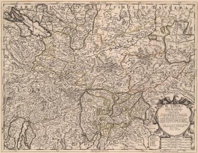 Il Tirolo con li Vescouati di Trento, e Brixen e la Citta Imperiale di Constanza