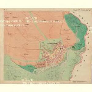 Fröllersdorf - m1088-2-006 - Kaiserpflichtexemplar der Landkarten des stabilen Katasters