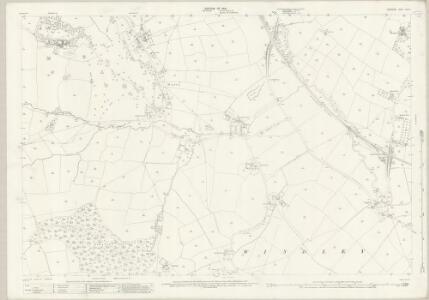 Derbyshire XLIV.7 (includes: Hazlewood; Shottle and Postern; Turnditch; Weston Underwood; Windley) - 25 Inch Map