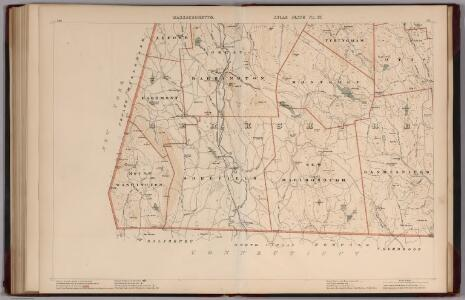 Massachusetts.  Atlas Plate No. 27.