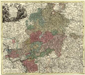 Superior et Inferior Hassiae Landgraviatus in suos Ducatus, Comitatus Abbatias Praefectur. accuratissime distinctus cura et impensis