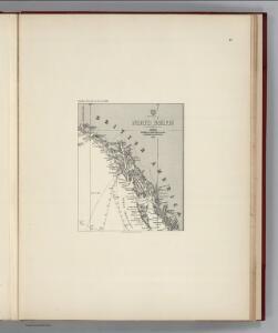 Facsimile:  Imray's North Pacific (portion).