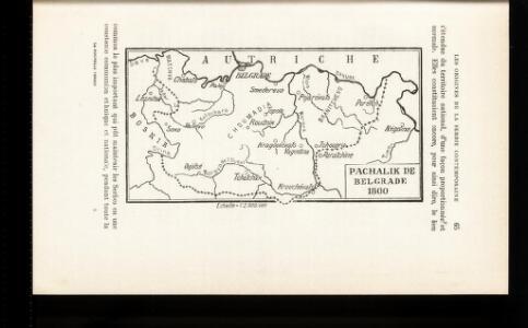 Pachalik de Belgrade 1800