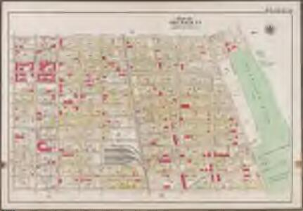 Plate 39: [Bounded by Barbey Street, (Highland Park) Sunnyside Avenue, Force Tube Avenue, Jamaica Turnpike, Logan Street and Sutter Street.]; Atlas of the borough of Brooklyn, city of New York: from actual surveys and official plans by George W. and Walter S. Bromley.