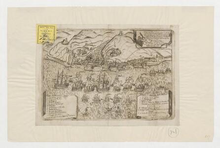 Gloriosa vict[ori]a que han consequido catholicas armas Espanolas contra una esquadra Bretanica ... el dia 2 de marzo de 1743