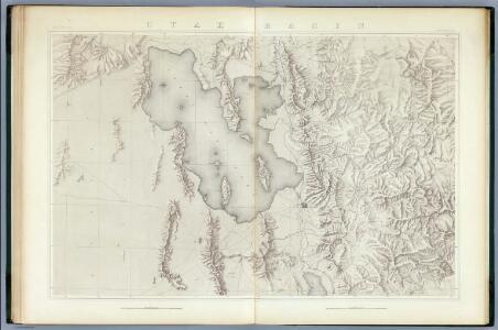Utah Basin. (Topographical)