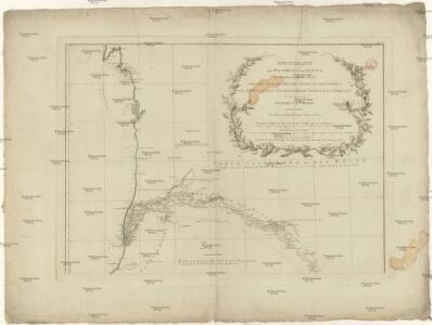 Specialkarte der West-Küste von Africa von Cabo Blanco bis Cabo Verga nebst dem Lauf der Flüsse Senegal und Gambia