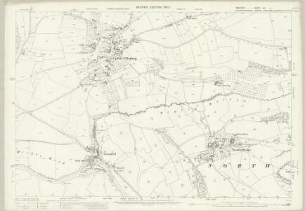 Somerset VII.11 (includes: Bitton; Keynsham; North Stoke) - 25 Inch Map