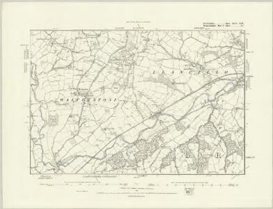 Herefordshire XLVIII.NE - OS Six-Inch Map