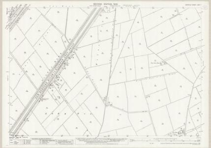 Norfolk LXXX.7 (includes: Hilgay; Welney) - 25 Inch Map
