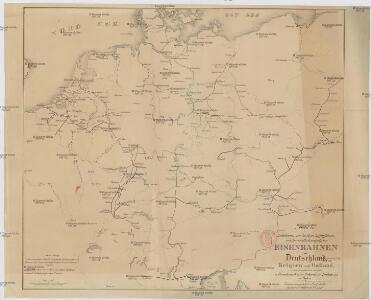 Karte Italien Frankreich.Karte Der Fahrbaren Oder Im Bau Begriffenen Und Der Ernstlich