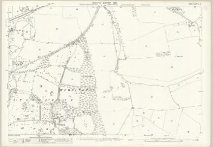 Essex (1st Ed/Rev 1862-96) IX.9 (includes: Debden; Newport; Saffron Walden; Widdington) - 25 Inch Map