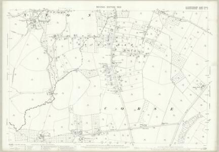 Gloucestershire XVIII.5 (includes: Corse; Staunton) - 25 Inch Map
