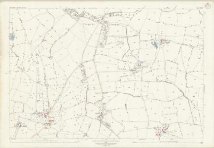 Shropshire LXXI.10 (includes: Bromfield; Culmington; Onibury; Stanton Lacy) - 25 Inch Map