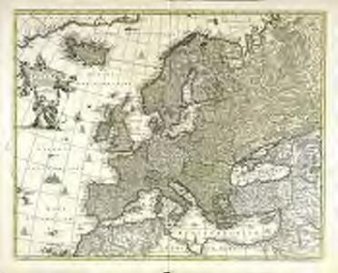 Nova et accurate divisa in regna et regiones præcipuas Europæ descriptio