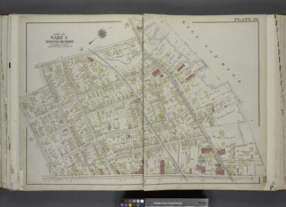 Part of Ward 3. [Map bound by Nicholas Ave, Richmond  Terrace, Pierhead and Bulkhead Line, Richmond Ave, Charles Ave, Grove PL,        Castleton Ave (Hatfield)]